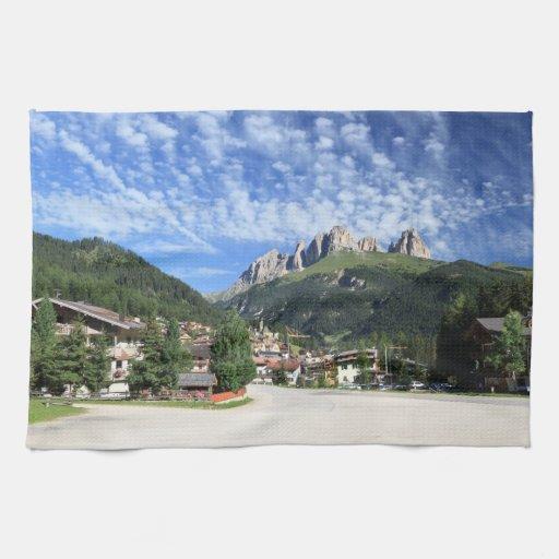 Alba di Canazei, Trentino, Italy Towels