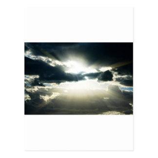 Alba divina del cielo postal