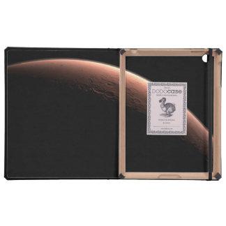 Alba en el cráter del vendaval iPad cárcasa