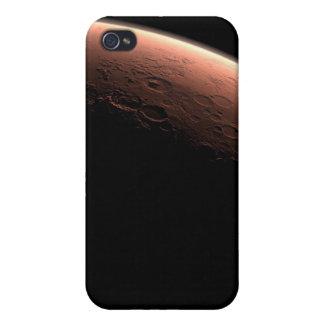 Alba en el cráter del vendaval iPhone 4 cárcasas