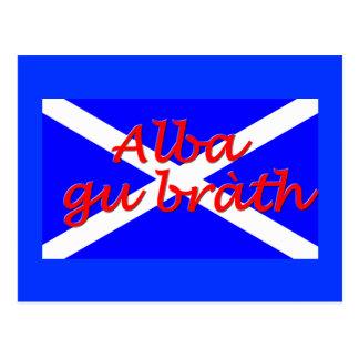 """Alba gu brath"" Postcard"