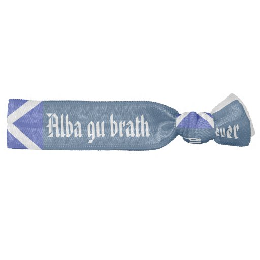 Alba Gu Brath Scotland Forever Hair Tie