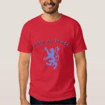 Alba gu brath Scottish Independence Lion Rampant T Shirt