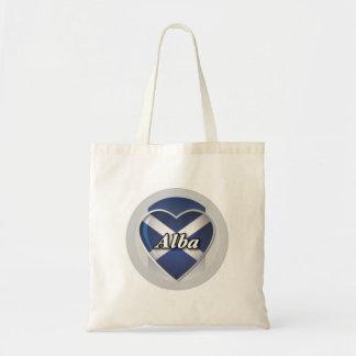 Alba Heart Saltire Tote Bag