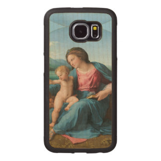 Alba Madonna Raphael Renaissance Wood Phone Case