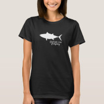 "Albacore Fish ""Saltwater Cures Everything"" T-Shirt"