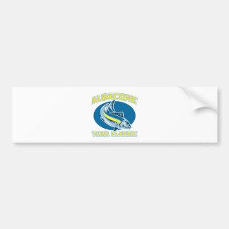 albacore tuna classic bumper sticker