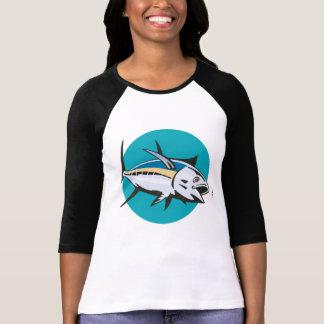 Albacore Tuna Fish Retro T Shirts