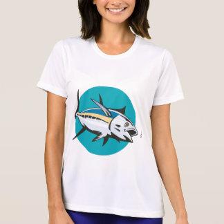 Albacore Tuna Fish Retro Tee Shirt