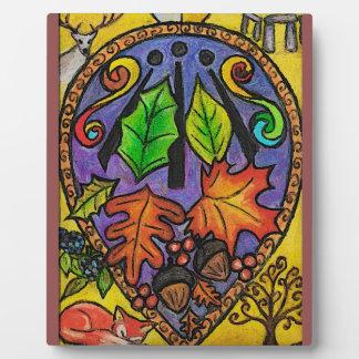 Alban Elfed / Mabon / Autumn Equinox Plaque