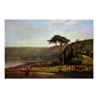 Albanersee de George Inness Posters