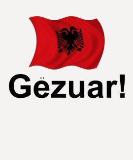 ¡Albanés Gezuar! (Alegrías) Playeras