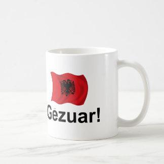 ¡Albanés Gezuar! (Alegrías) Taza Básica Blanca