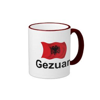 ¡Albanés Gezuar! (Alegrías) Taza A Dos Colores