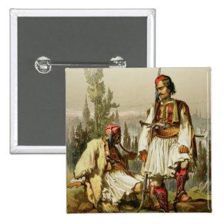 Albaneses mercenarios en el ejército del otomano pins