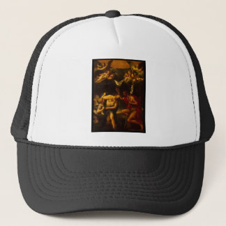 Albani Francesco Baptism of Christ Trucker Hat