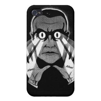 Albani Scary Eyes Hypnotist Poster iPhone 4 Cases