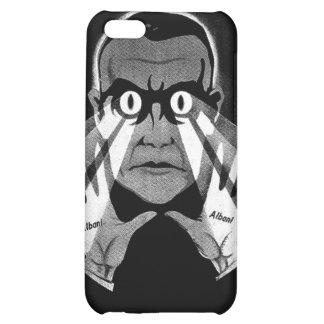 Albani Scary Eyes Hypnotist Poster iPhone 5C Cases