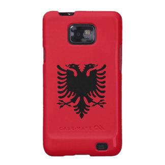Albania - Albanian Flag Galaxy S2 Case