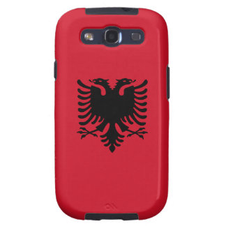 Albania - Albanian Flag Galaxy SIII Cover