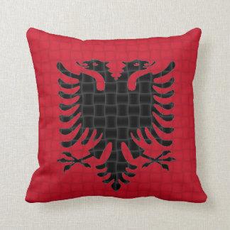 Albania Albanian Flag Throw Pillow