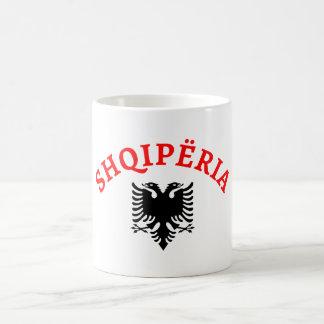 Albania and eagle - Shqiperia dhe shqiponja Coffee Mug