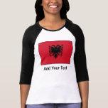 Albania - bandera albanesa playera