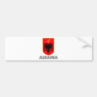 Albania Coat of Arms Car Bumper Sticker