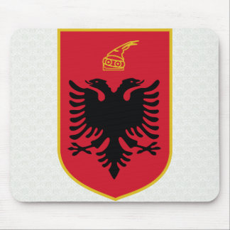 Albania Coat of Arms detail Mousepads