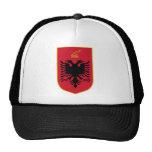 Albania Coat Of Arms Mesh Hats