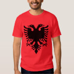 Albania Coat of Arms T Shirt