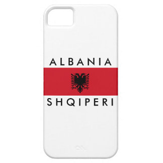 albania country long flag nation symbol name iPhone SE/5/5s case