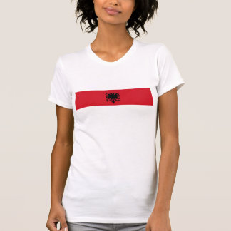 albania country long flag nation symbol T-Shirt