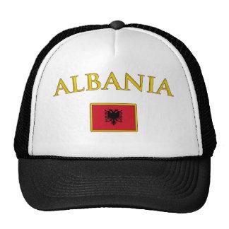 Albania de oro gorras de camionero