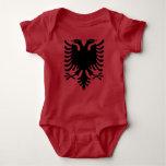 Albania Eagle Grey Baby Jumper Baby Bodysuit