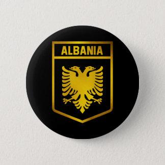 Albania Emblem Button
