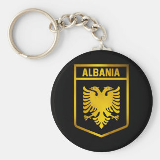 Albania Emblem Keychain