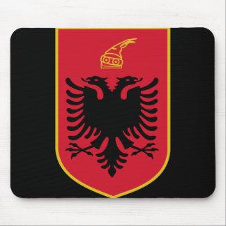 albania emblem mouse pad
