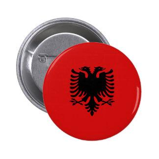 Albania Fisheye Flag Button
