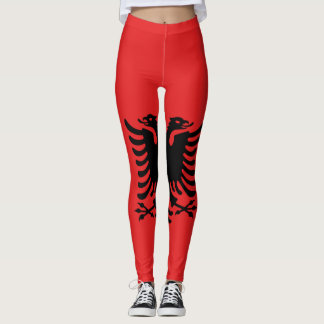 Albania flag all over legging