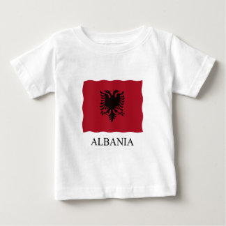 Albania flag baby T-Shirt