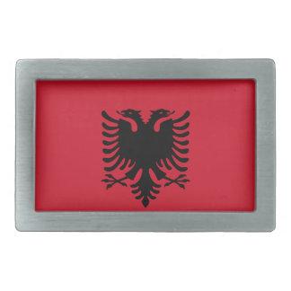 Albania Flag Belt Buckle