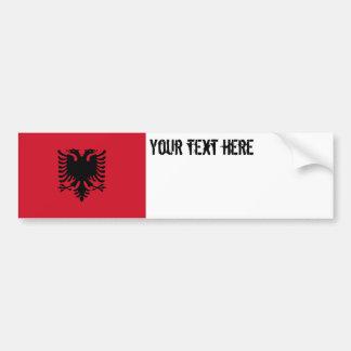 Albania Flag Bumper Sticker