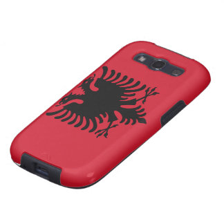 Albania Flag Galaxy SIII Covers