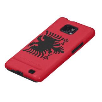 Albania Flag Samsung Galaxy S2 Cases