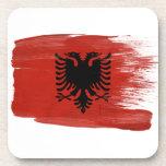 Albania Flag Coaster