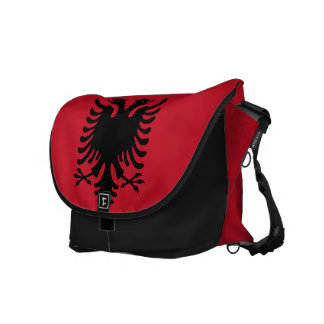 Albania Flag Courier Bag