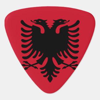 Albania Flag Guitar Pick
