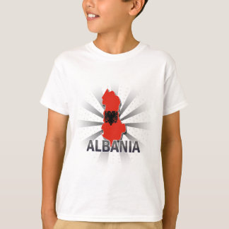 Albania Flag Map T-Shirt