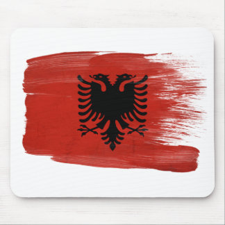 Albania Flag Mousepads